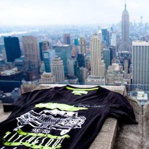 Stylischen FASHION5-Hemd in New York