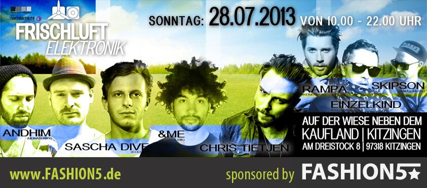 Frischluft Elektronik - Das Sommer-Event