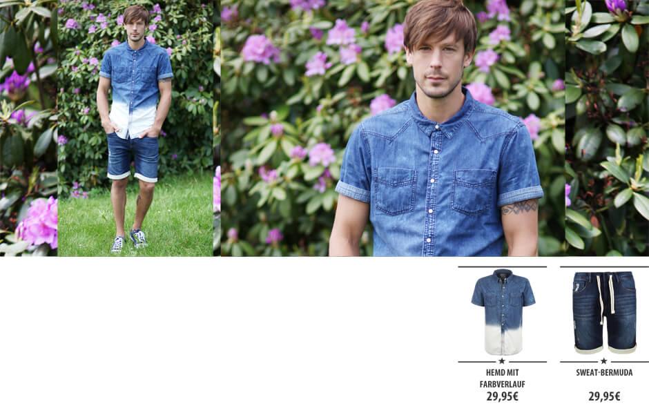 Sommer Denim - Hemd & Short