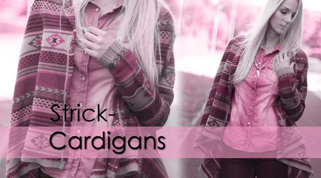 Cardigans kombinieren