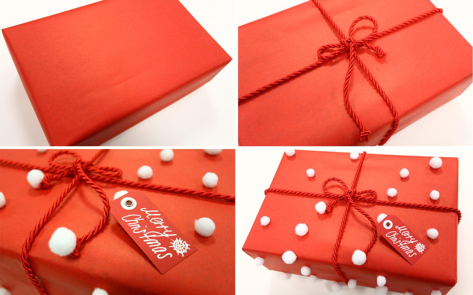 weihnachtsgeschenke verpacken so gehts. Black Bedroom Furniture Sets. Home Design Ideas