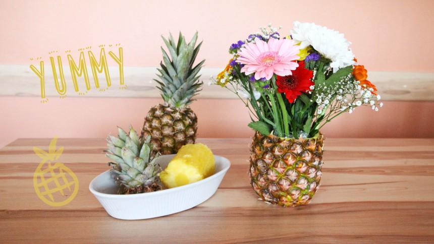 DIY Ananas Vase