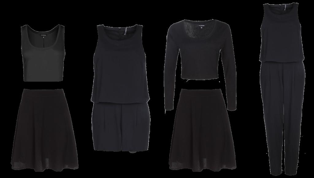 schwarzer jumpsuit kombinieren schwarzer rmelloser schl sselloch elastische taille jumpsuit. Black Bedroom Furniture Sets. Home Design Ideas