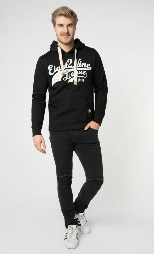 Männer Outfit All Black