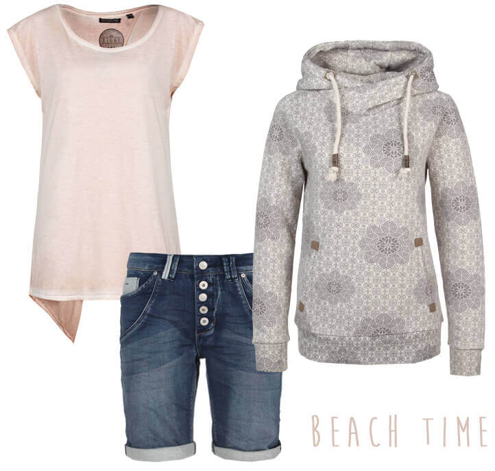Sommeranfang Beach Look