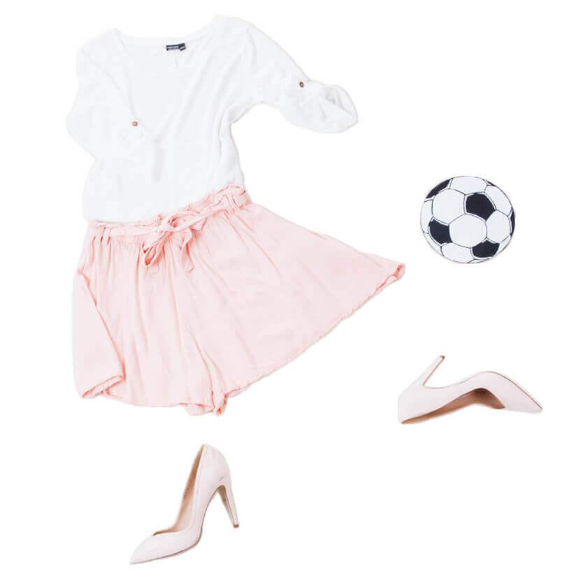 Spielerfrauen Outfits