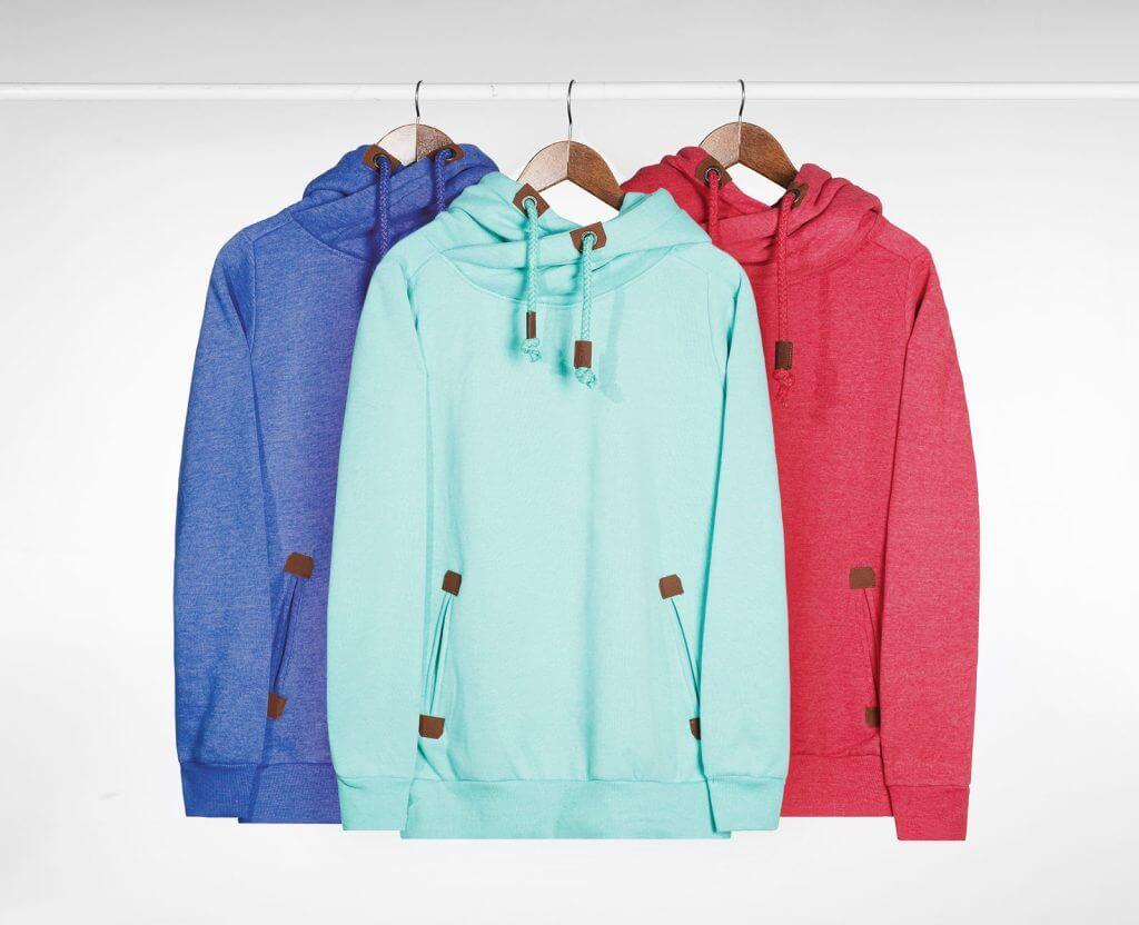 Hoodies in verschiedenen Farben