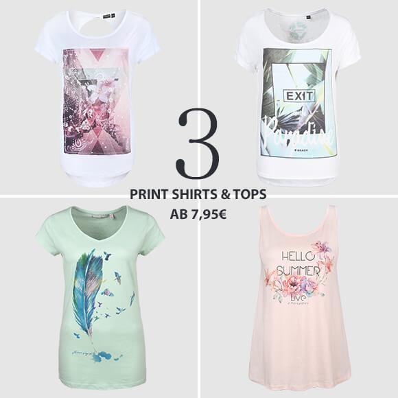 Top 5 Juli Print Shirts