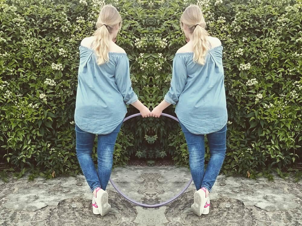 Off-Shoulder Bluse selber machen