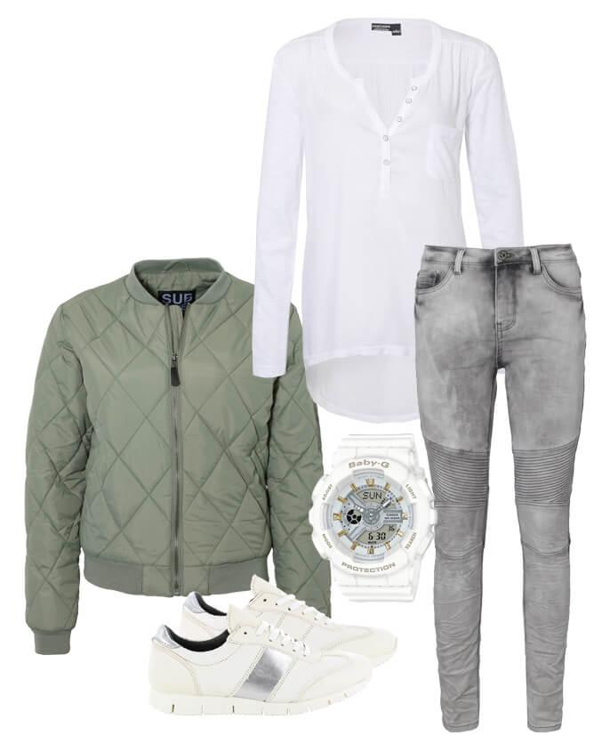 Khaki Look sportlich