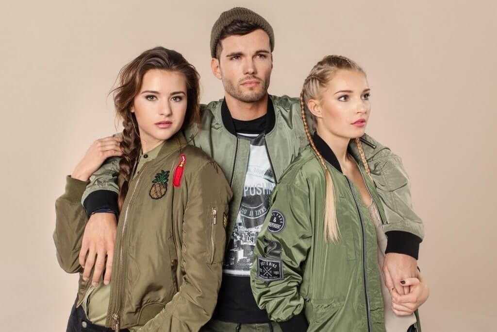 Trendfarbe Khaki