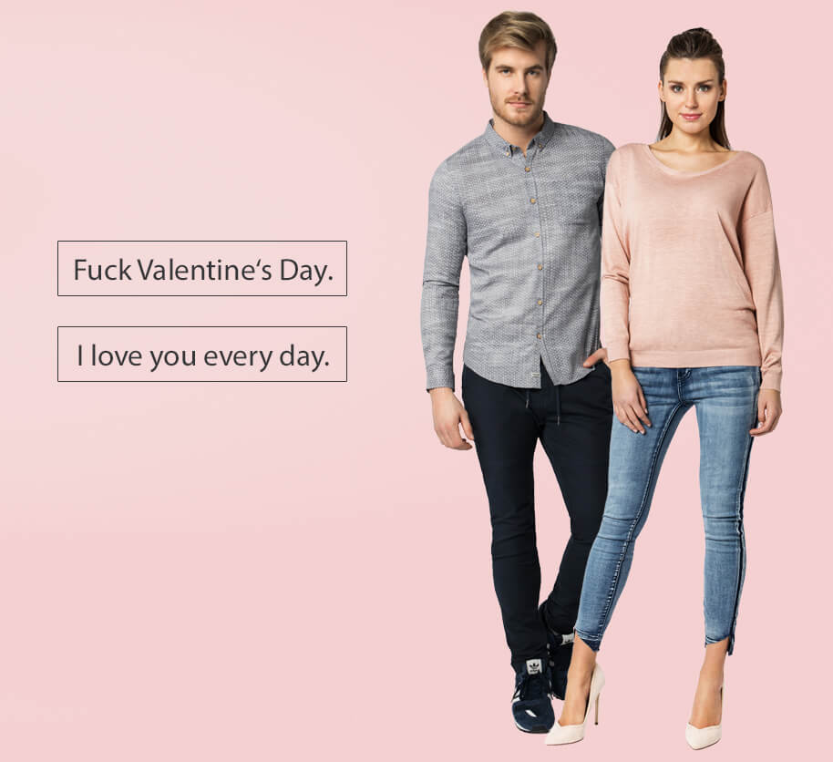 Valentinstags Outfit