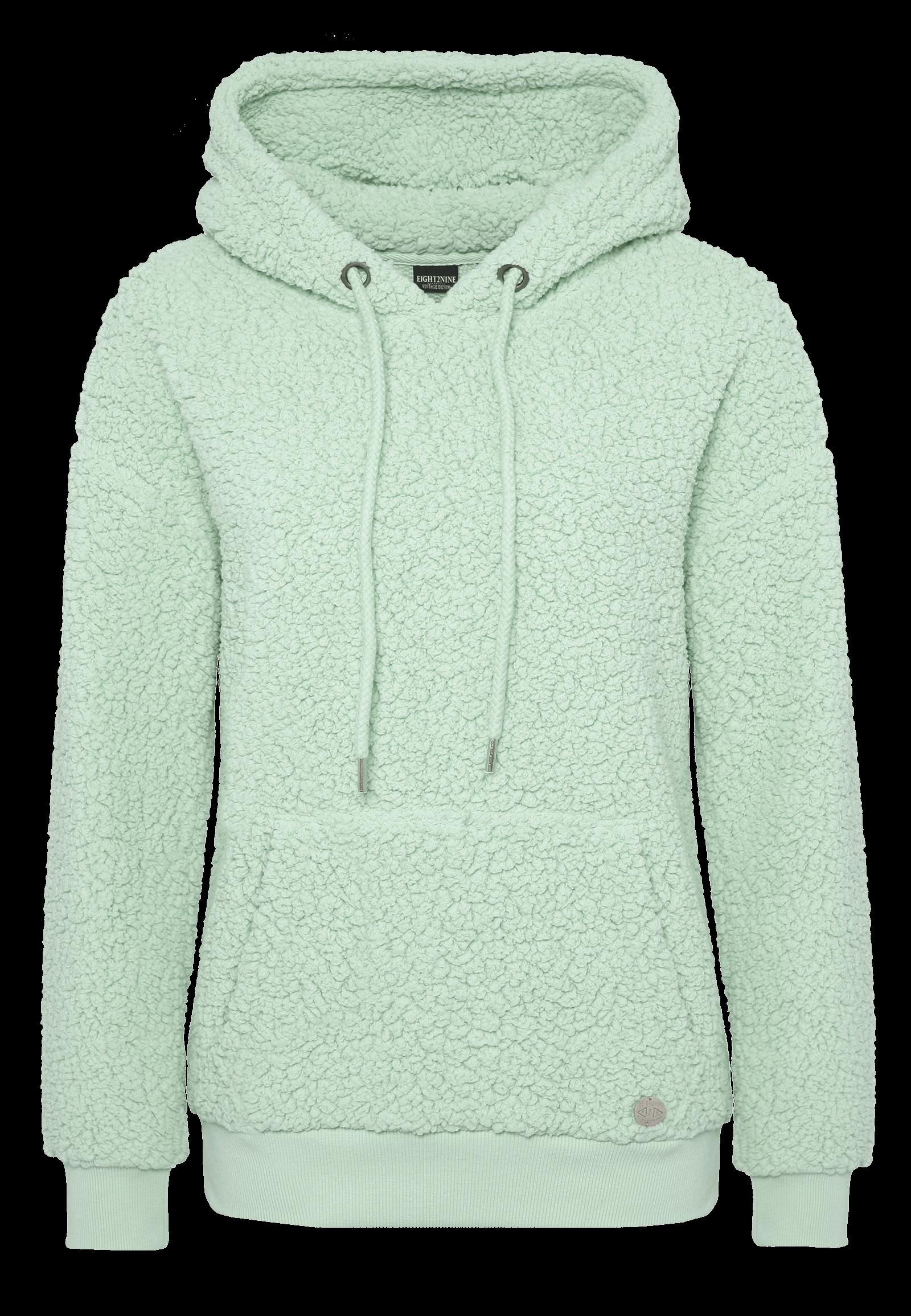 Teddyfleece Hoodie green