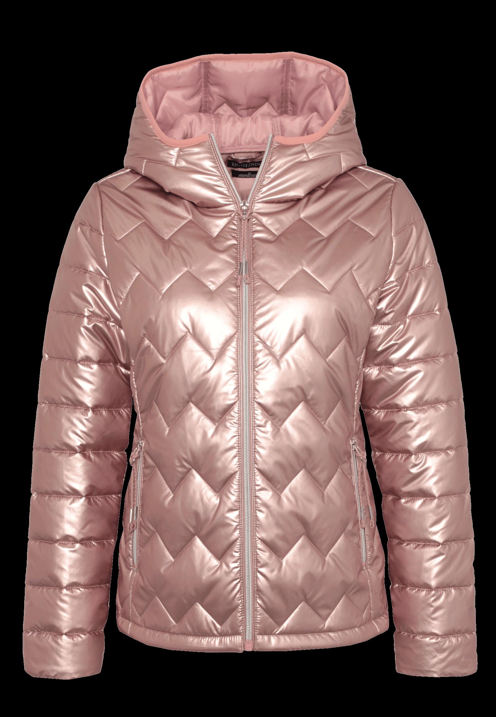Winterjacke metallic