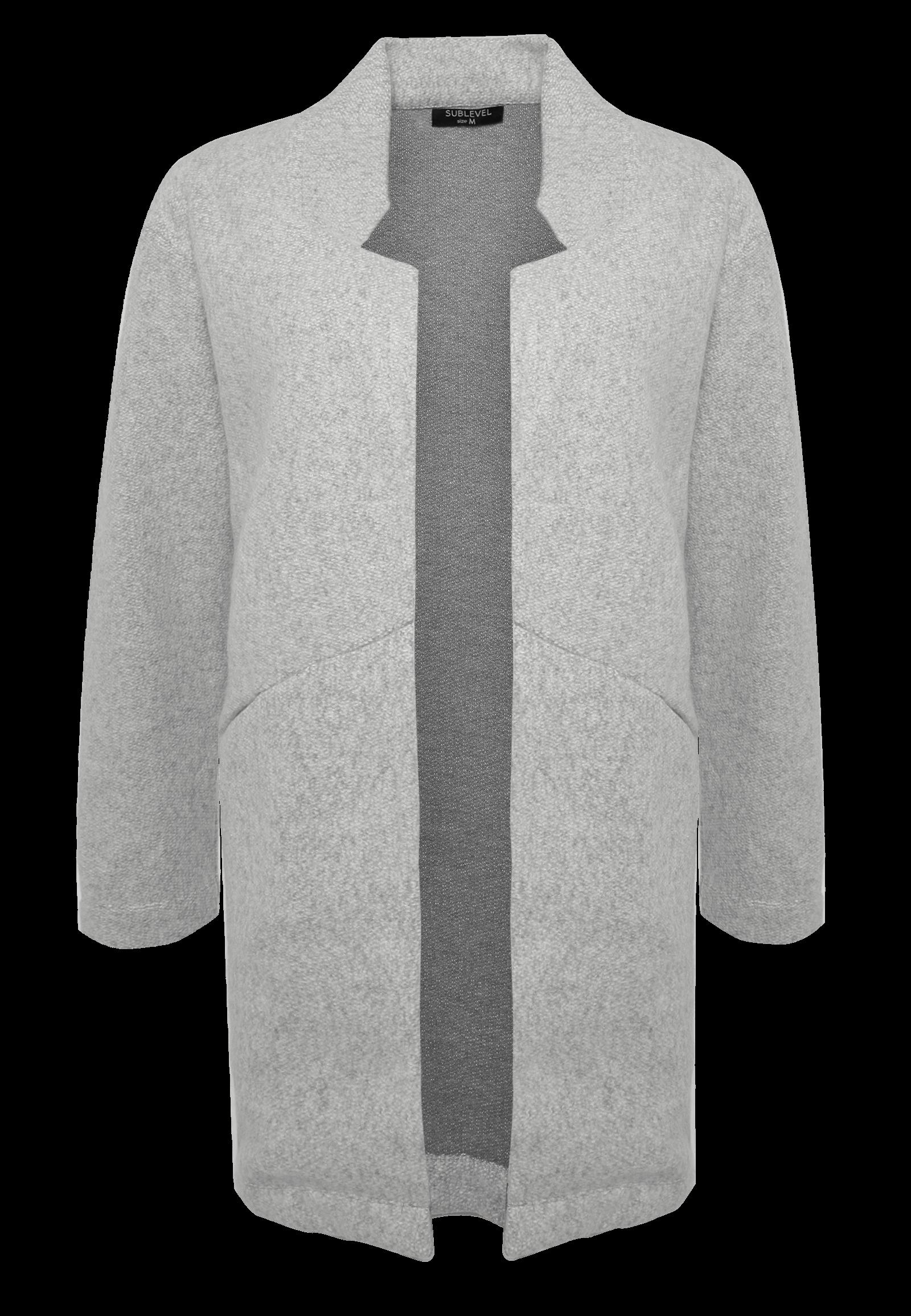 Grauer Damen Mantel