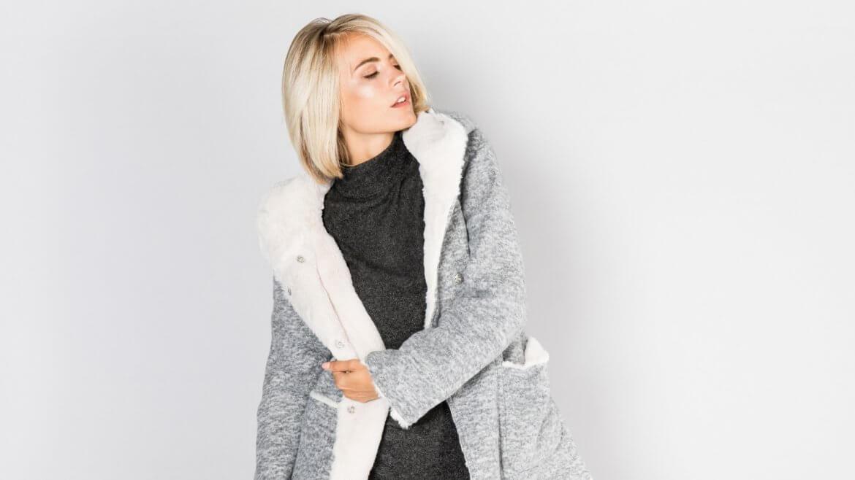 Kuscheliger Winter-Mantel