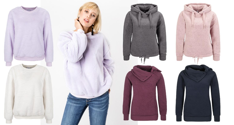 Fleece Pullover für Frauen