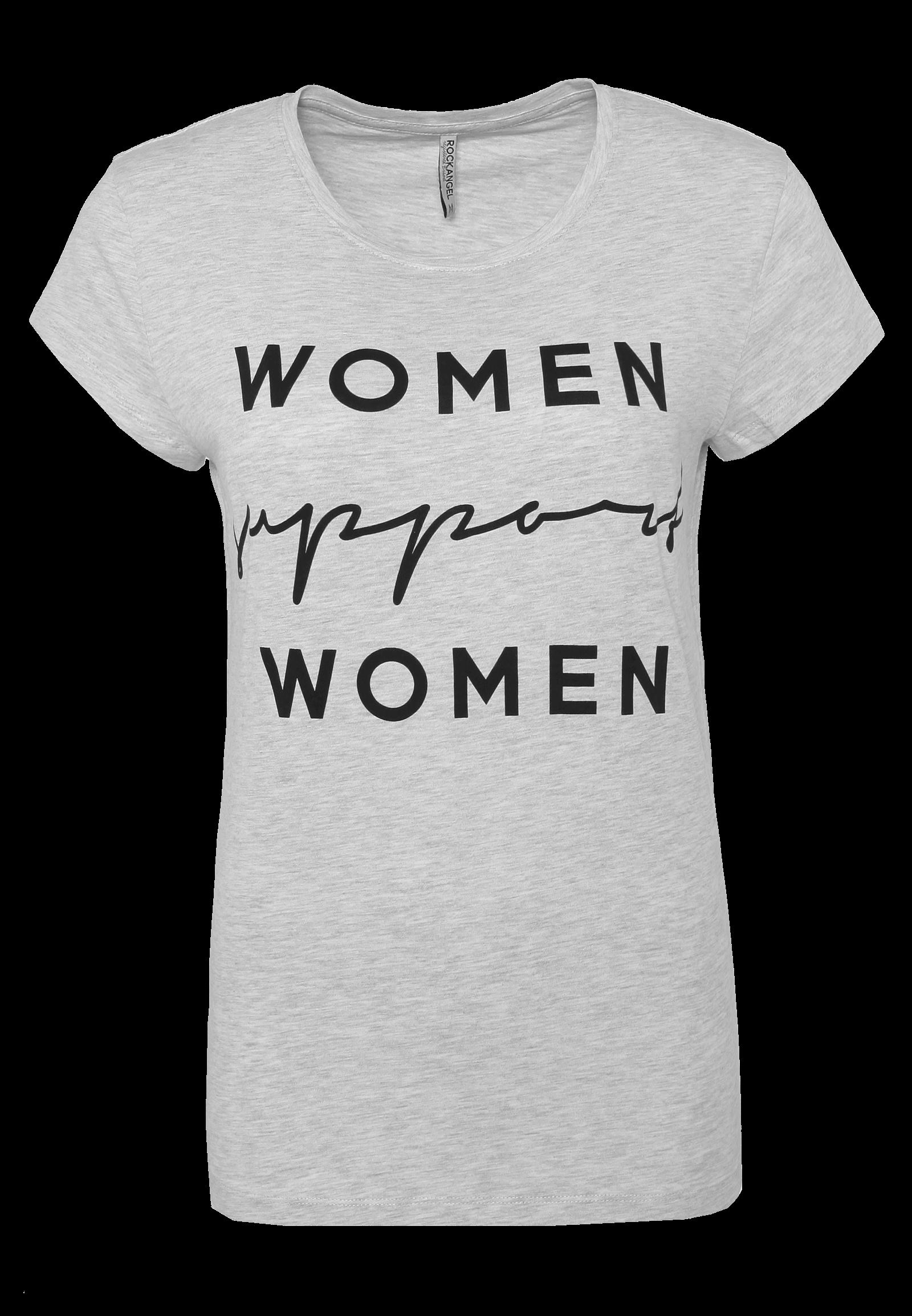 """Graues T-Shirt """"Women"""""""