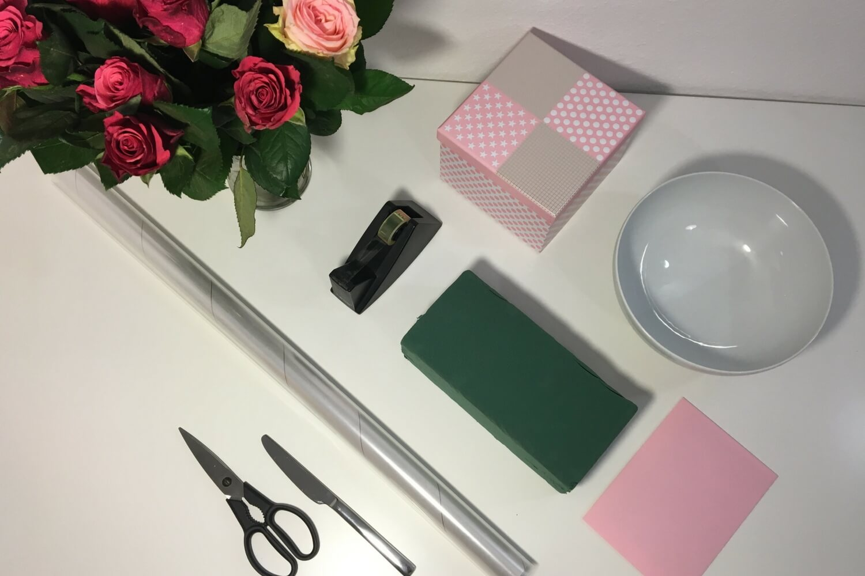 Material Flower Box