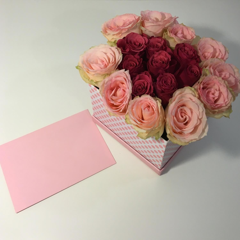 Fertige Blumen-Box