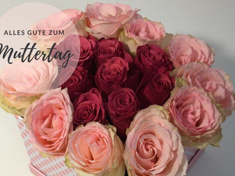 Blumen Box zum Muttertag