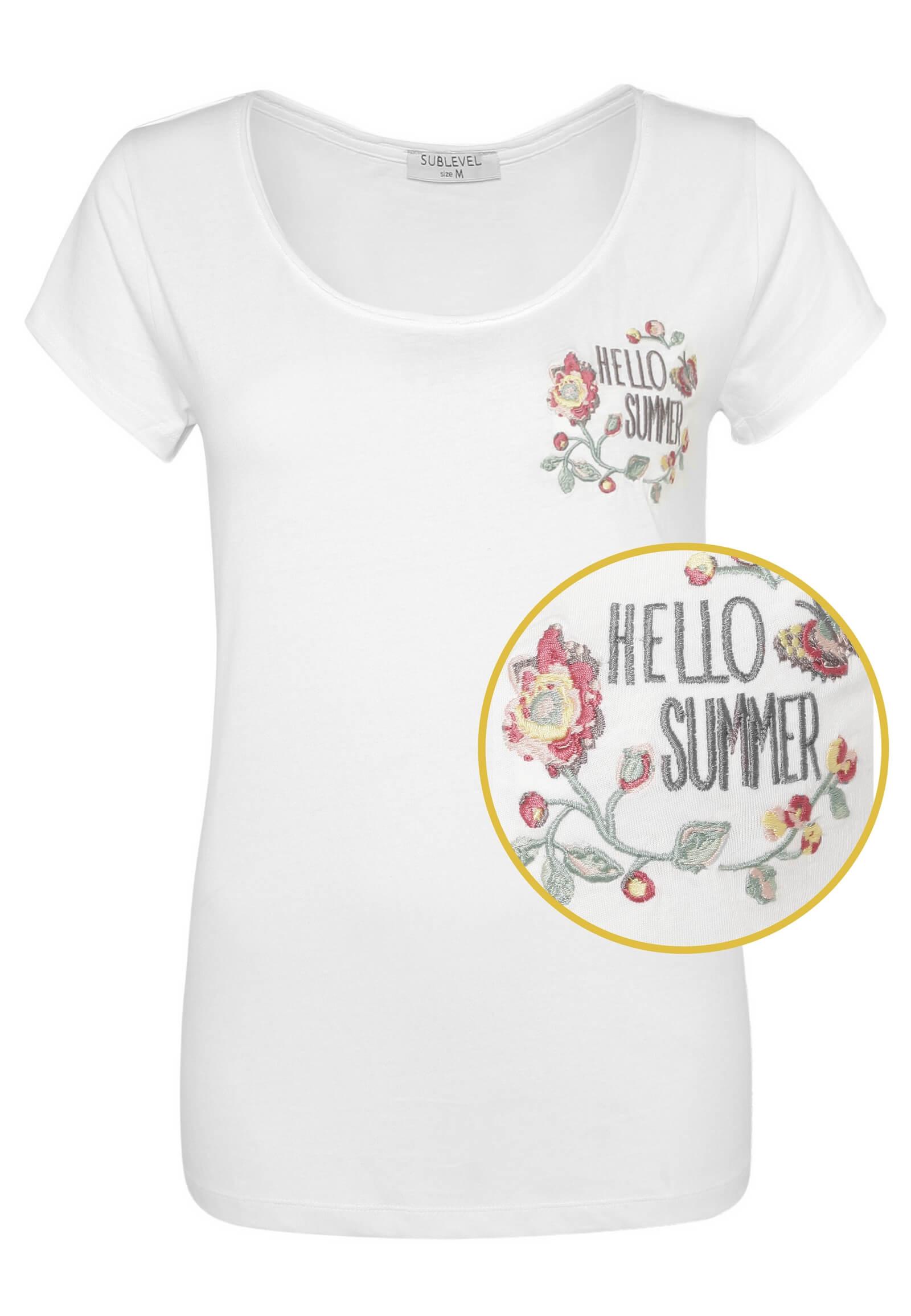 Stickerei Sommer