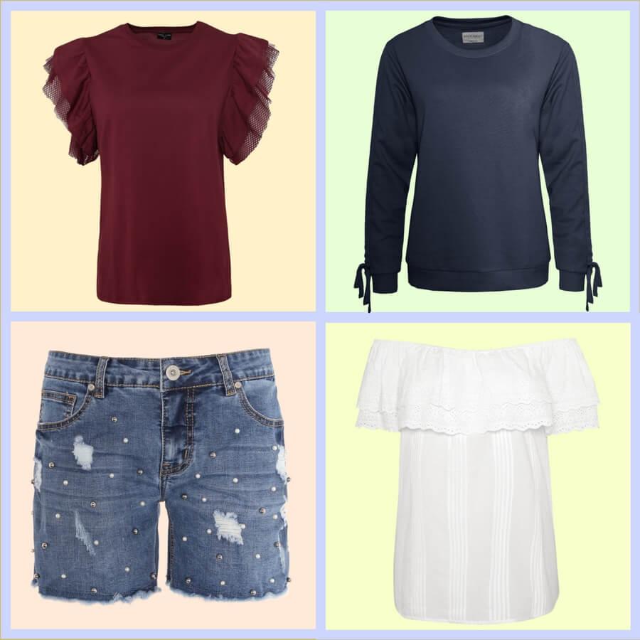 Shirts und Shorts