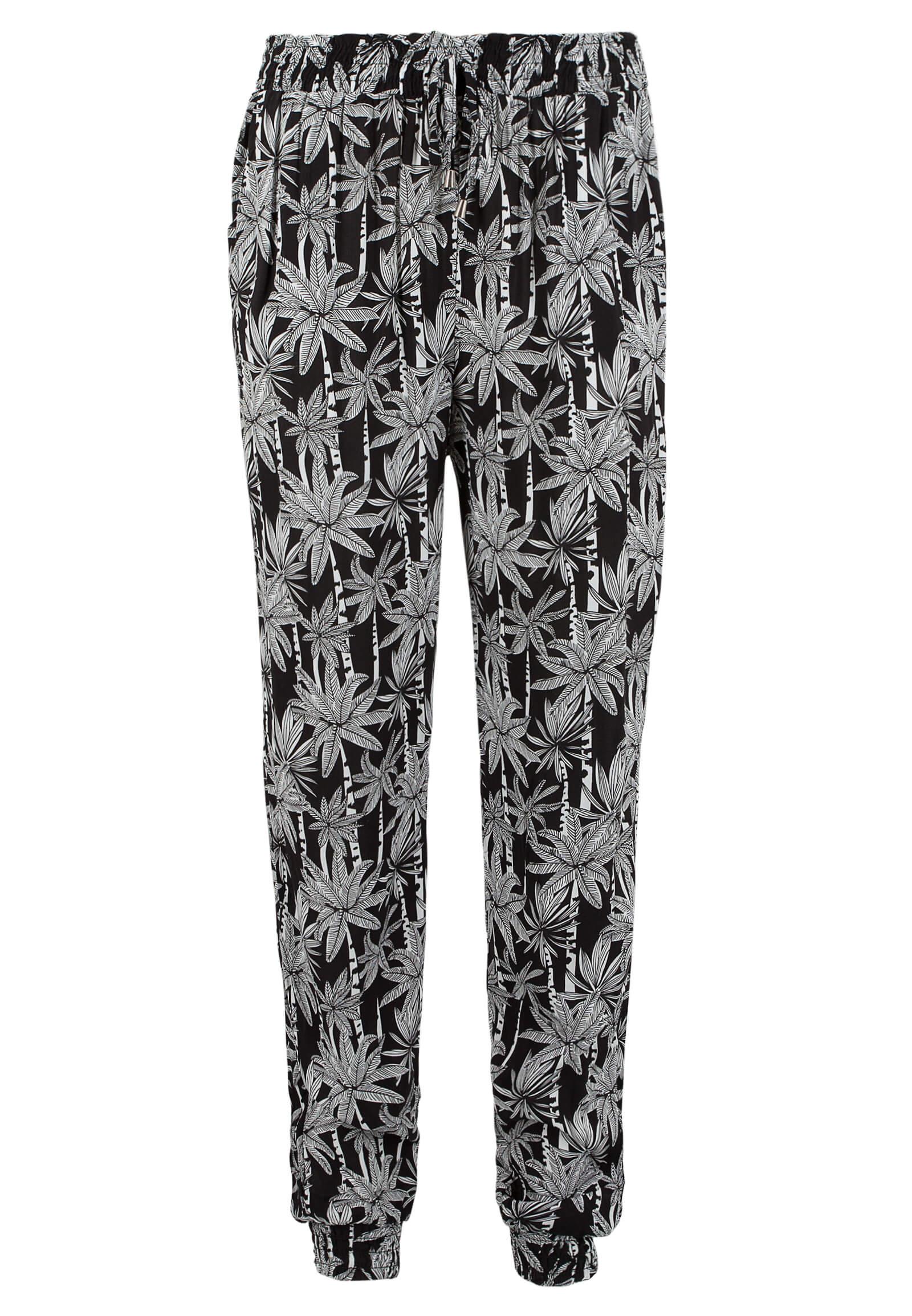 Shirt-Hose mit Palmen