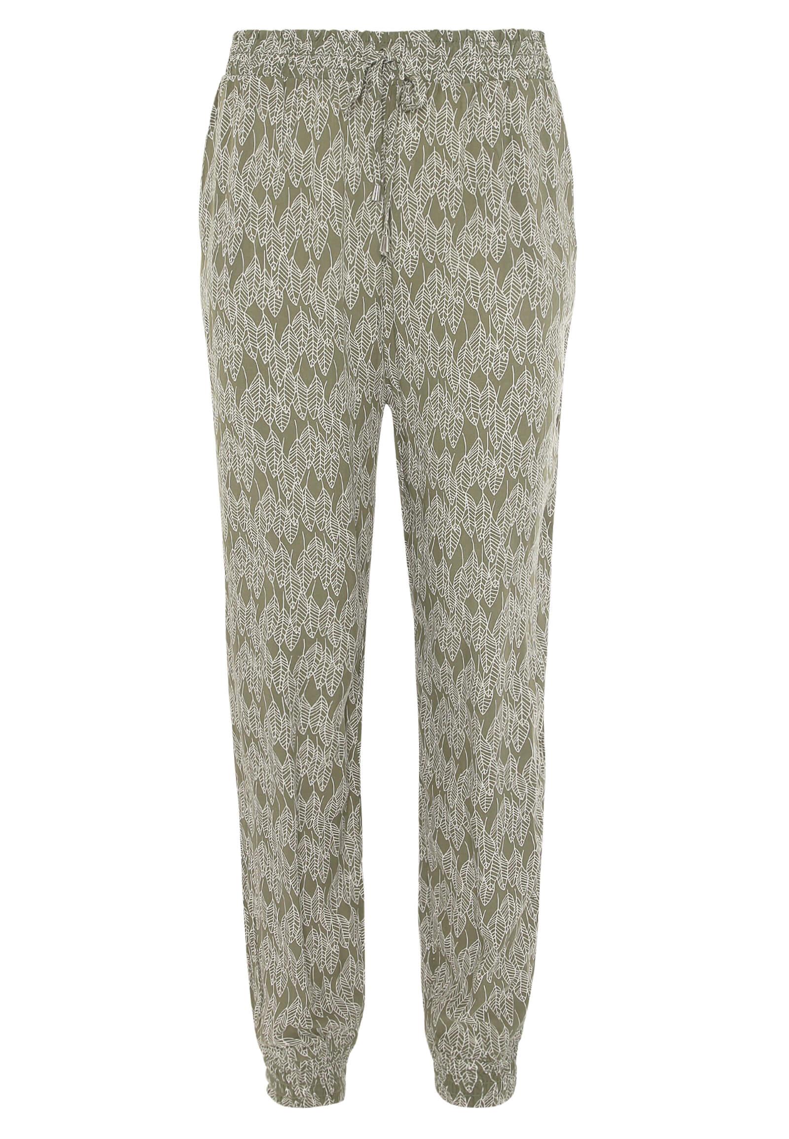 Shirt-Hose in Grün