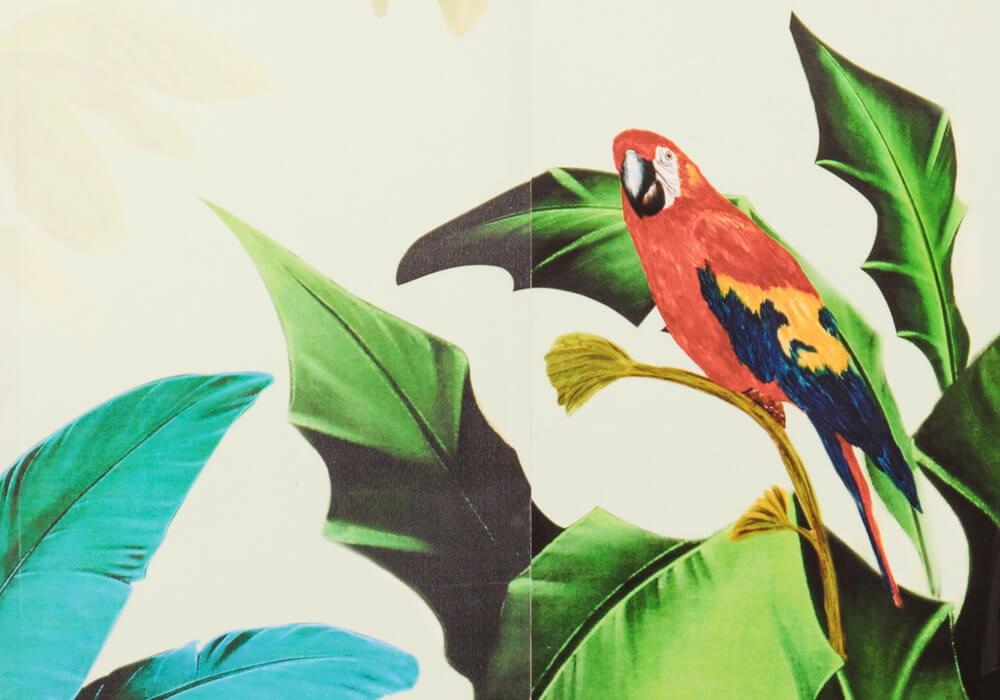 Tropic mit Papagei
