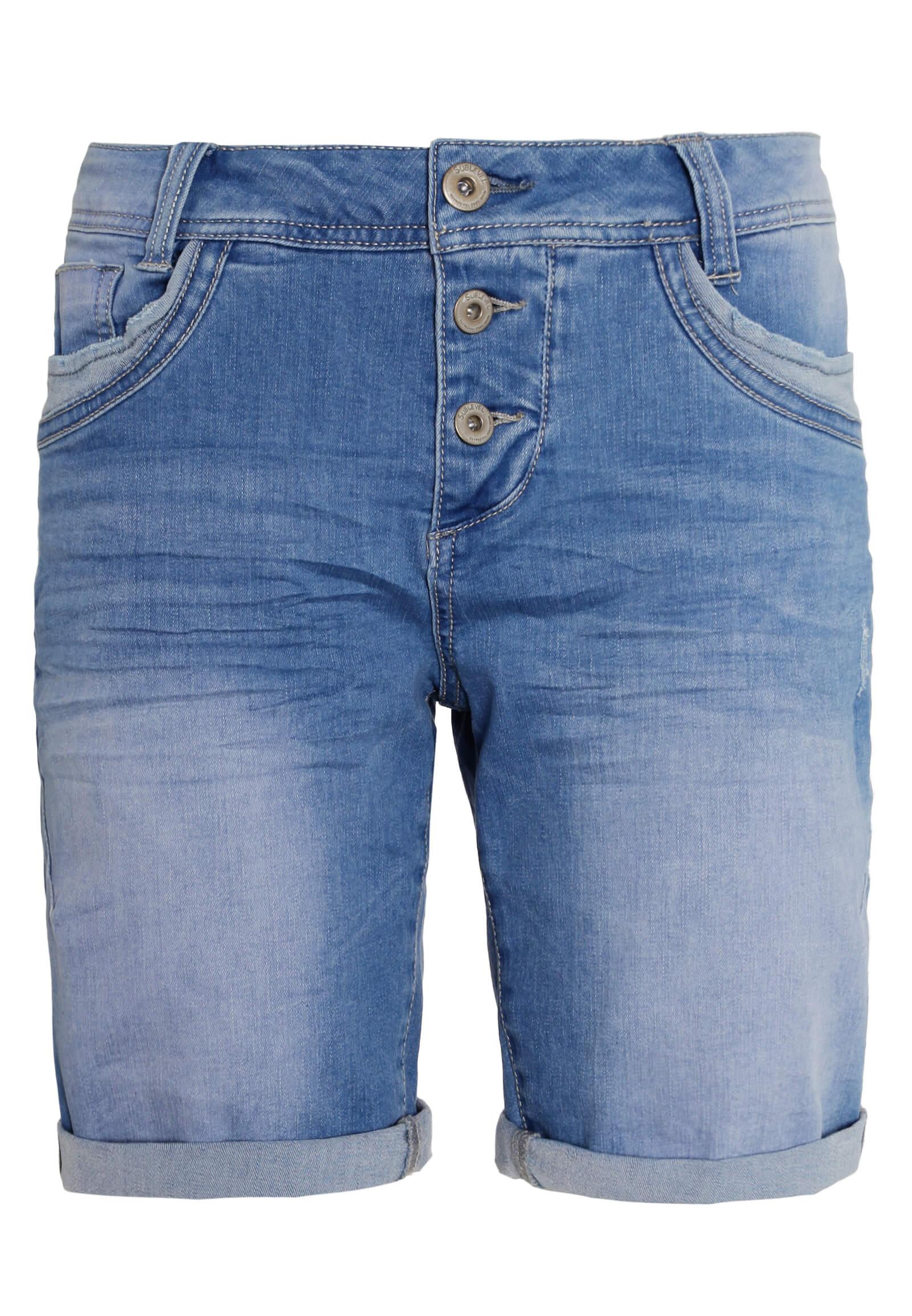 Helle Damen Jeans Bermuda
