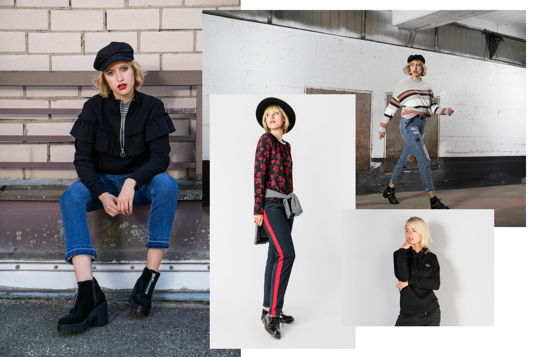 Damen Grunge Outfits