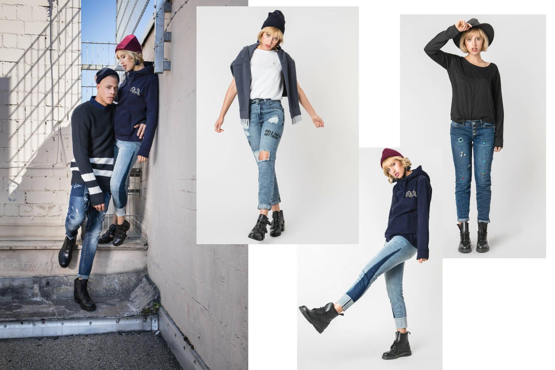 Damen Jeans Looks