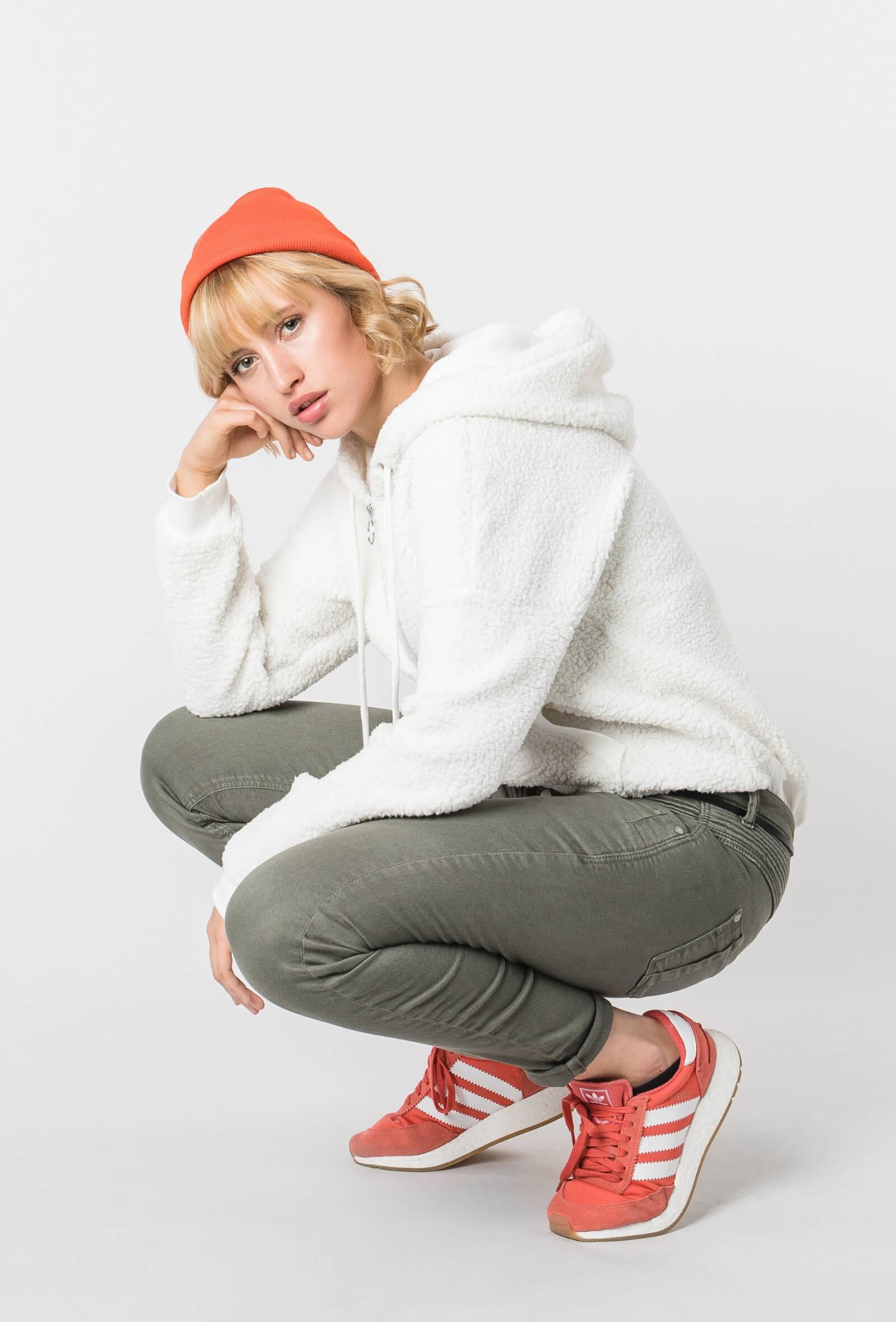 Outfit im Kuschel-Hoodie