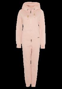 Kuschel-Overall in Rosé