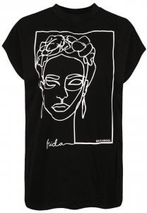 Damen T-Shirt Abstrakt