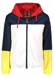 Leichte Jacke im Colorblock Style