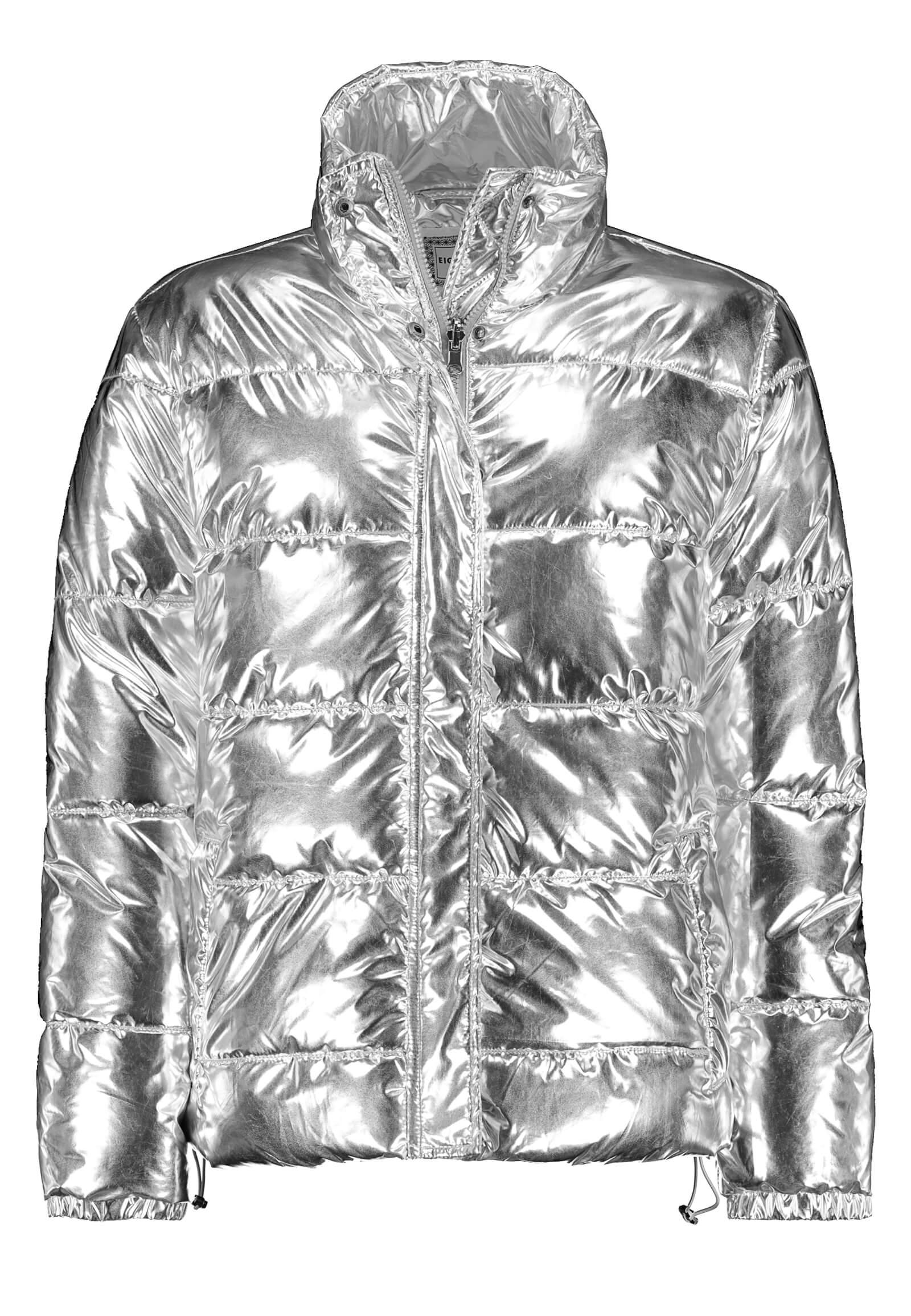 Glossyjacke silber metallic