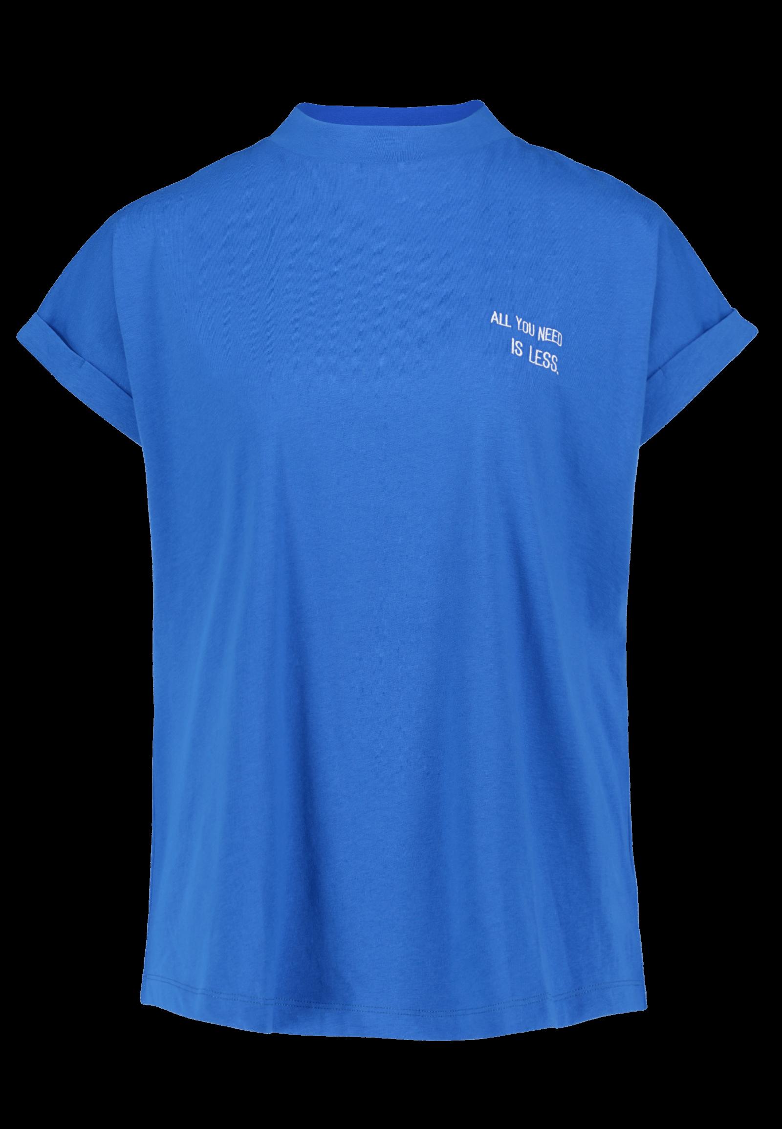 Oversized Shirt blau