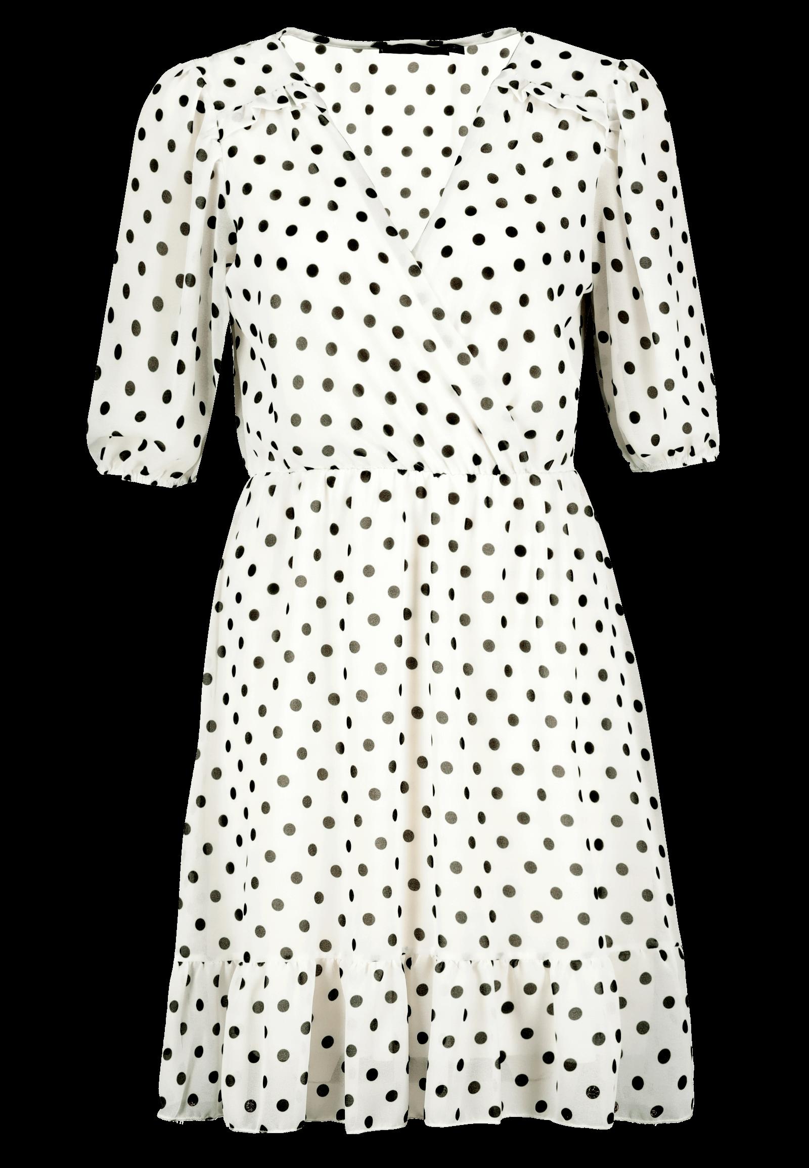Minikleid gepunktet