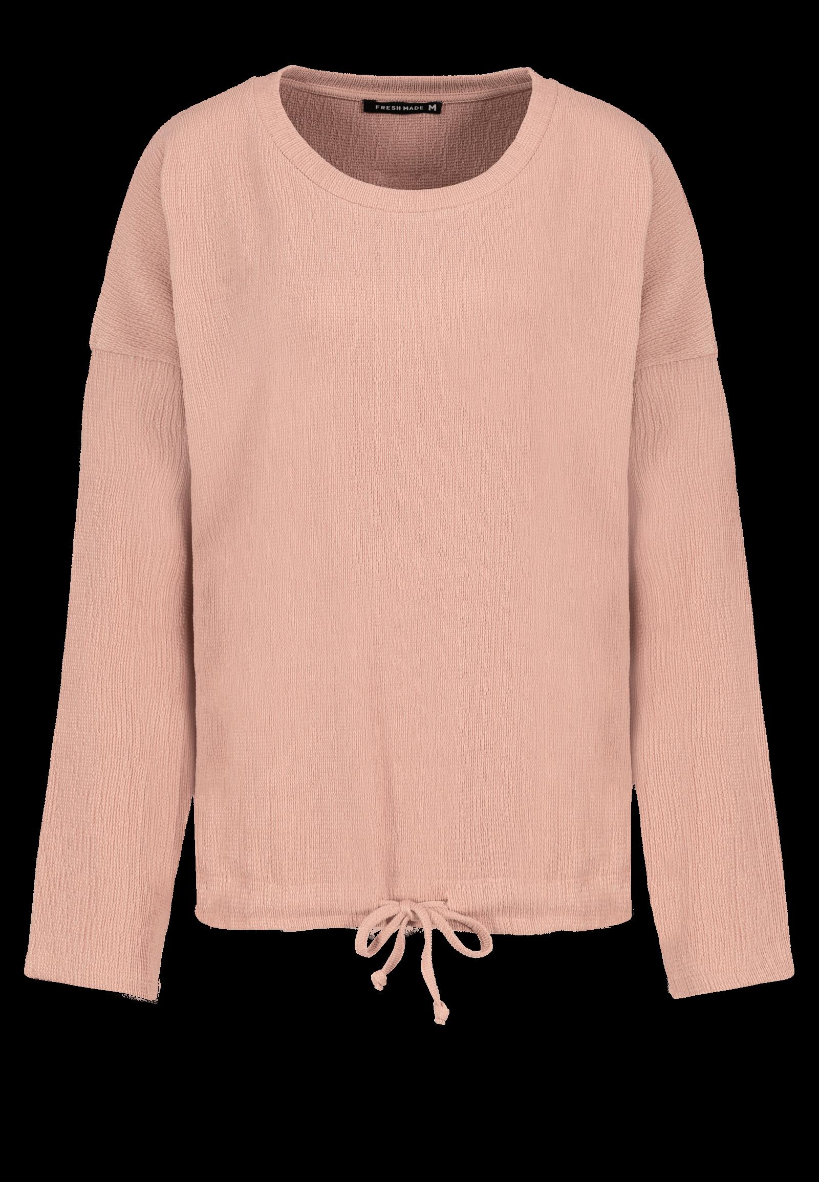 Crepe-Oberteil rosa