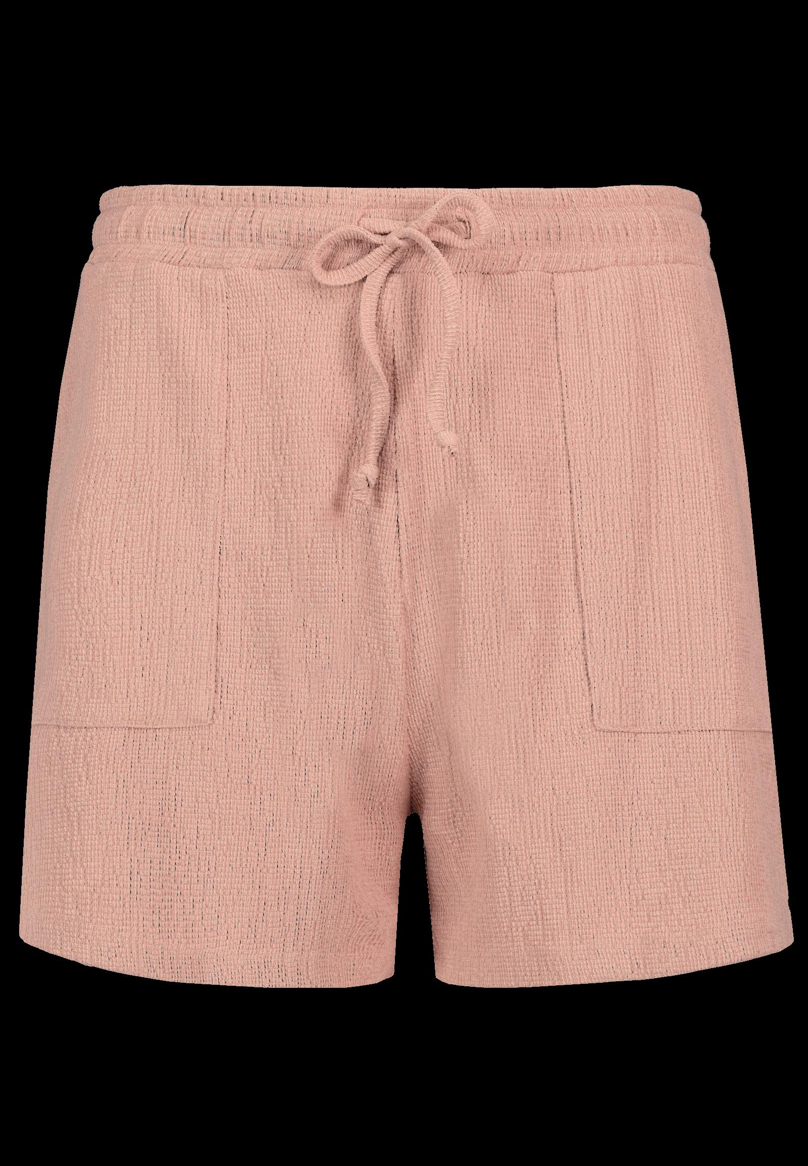 Shorts in Crepe-Optik