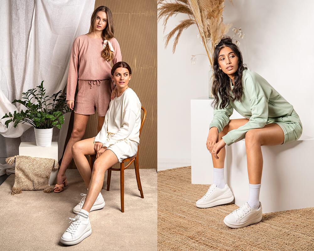 Loungewear-Set in kurz